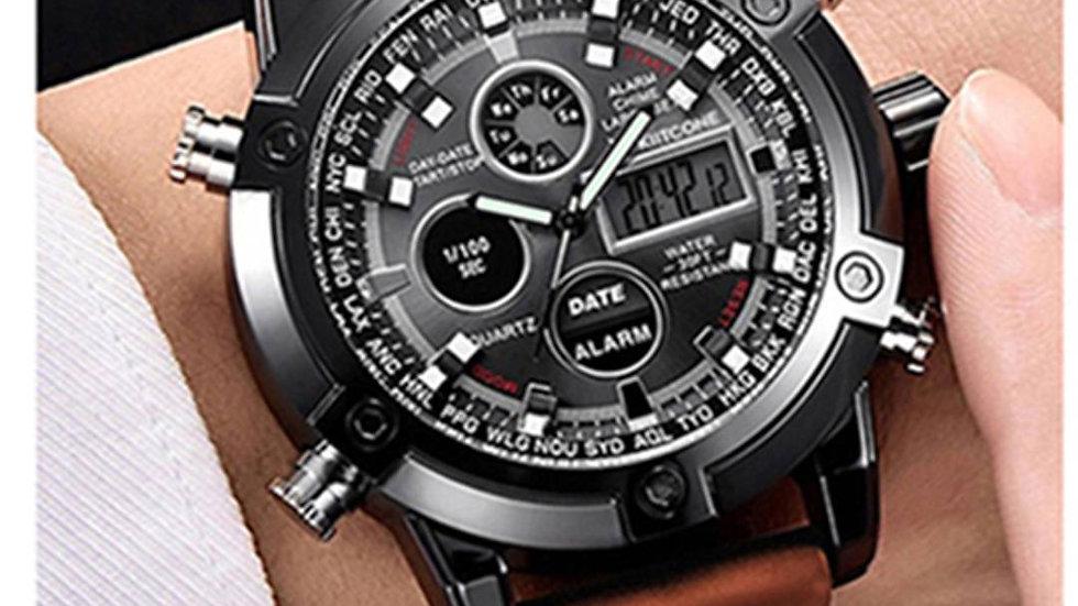 Stylish Analog & Digital Watch For Men