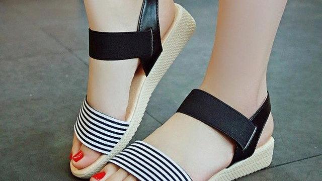 Fashion Women Flats Summer Hot Sale Sandals Female