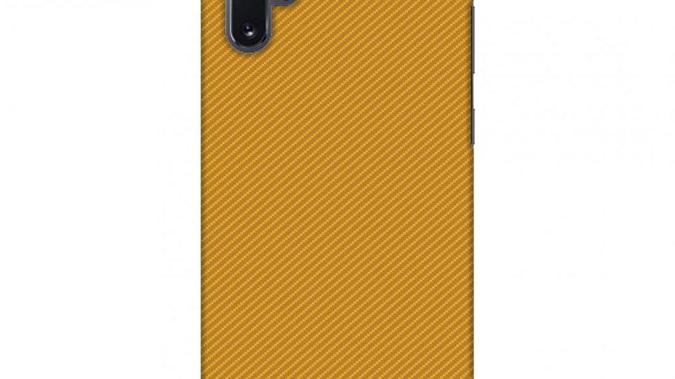Carbon Fibre Redux Desert Sand 16 Slim Hard Shell Case For Samsung
