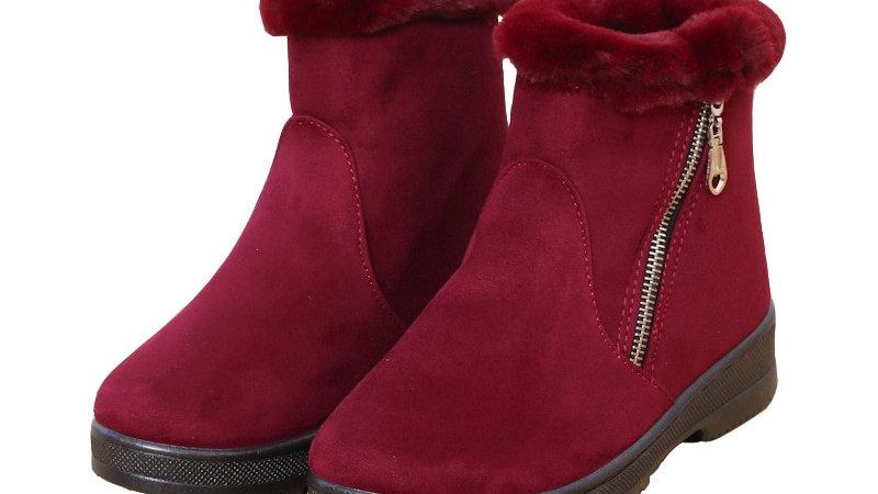 Winter High Snow Boots Women's Wild Warm