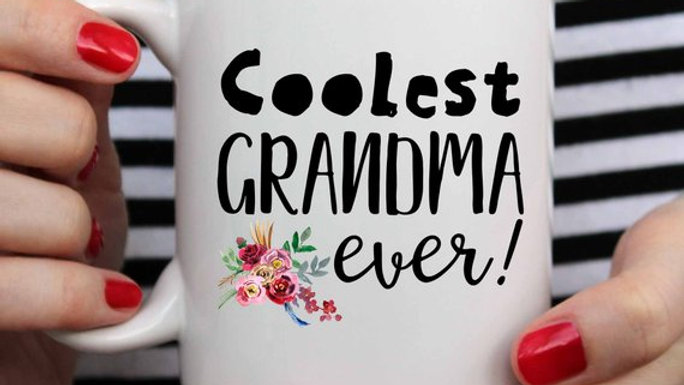 Grandma Mug, Mom From Daughter, Mother's Day,