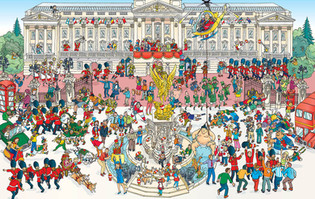 Rugby World Cup 2015-Buckingham Palace