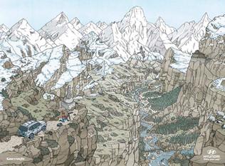 Hyundai Where's Wally in Mountain