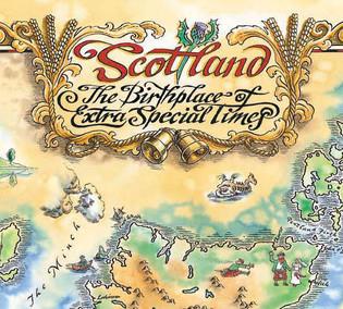 Bells Scotland map cover