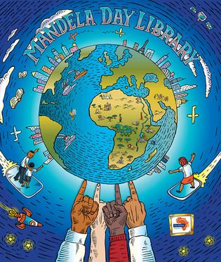 Mandela Day Library Earth