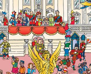 Buckingham Palace balcony