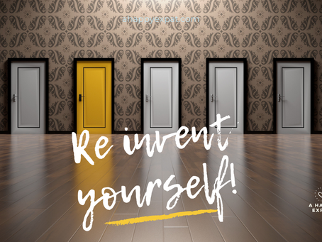Re Invent Yourself - a guest blog by Clare Doyle