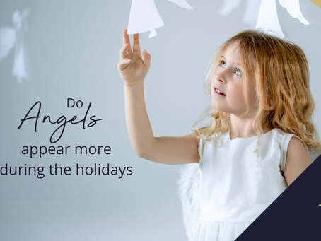 Do Angels Appear More During the Holidays?
