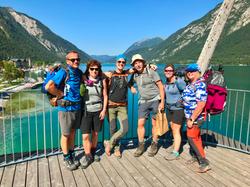 Am Achensee - Alpenüberquerung