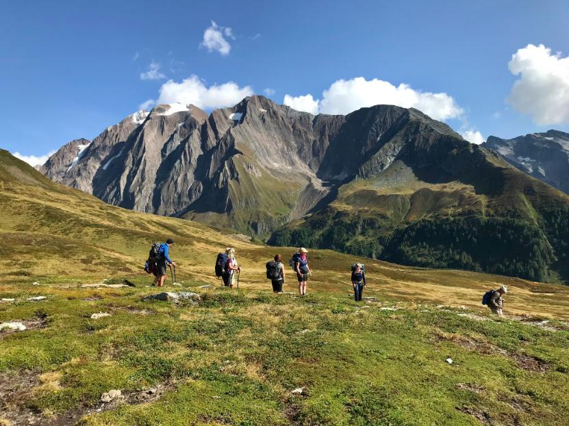 Unterwegs im Zillertal von Gipfel zu Gip