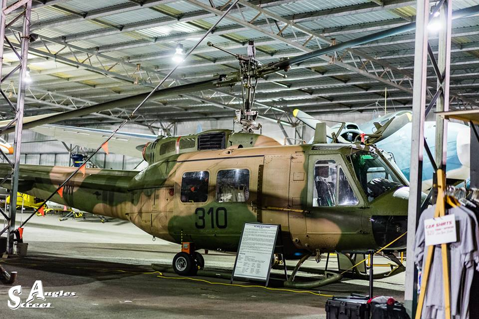 Helicopter at QLD Air Museum