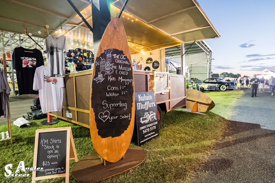 KM Coffee Van at QLD Air Museum
