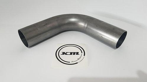 3 1/2 Inch Mandrel bend - Aluminized Steel