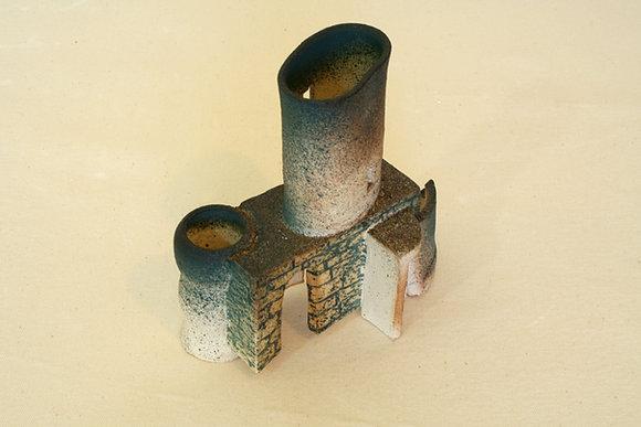 Castelo-objeto nº 1  - Luciana B. Chagas