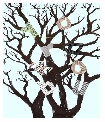 Wool text font Yorokobu revista portada