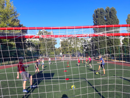 В городе Белгороде завершился отличный спортивный проект «Дворовый тренер».