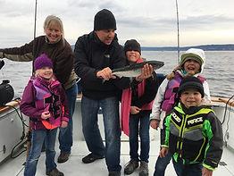charter boat salmon fishing