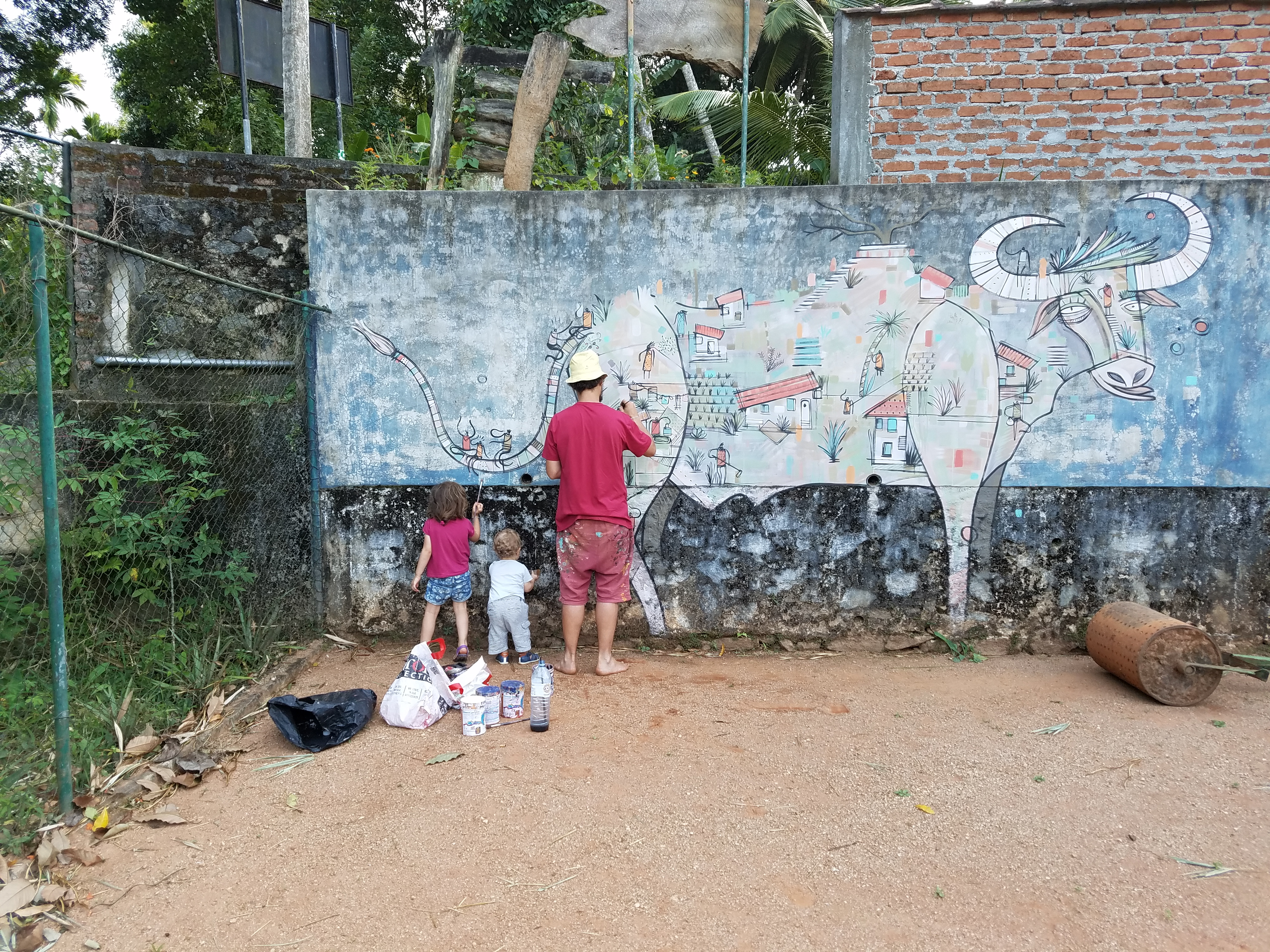 ad ec adec artiste peintre street