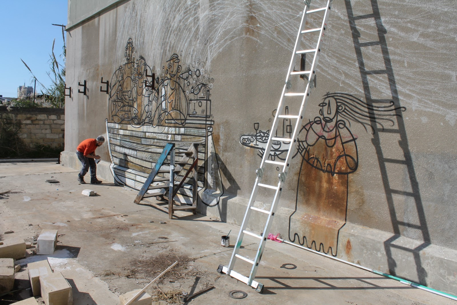 adec ad ec artiste peintre street