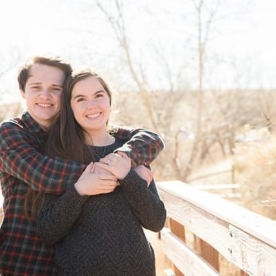 Bailey & Michael - Devil's Backbone Engagement Photos