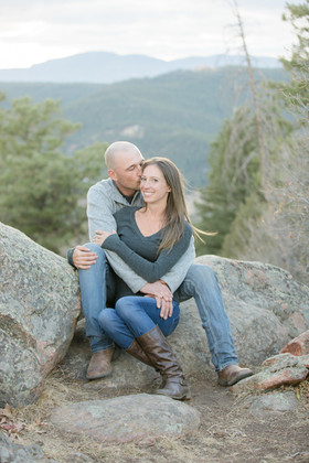 Jenny & Dave - Mount Falcon Engagement S