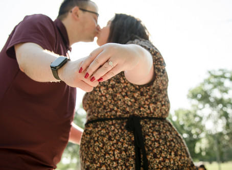 Elizabeth & Bogdan Engagement Photos // Cook Park, Denver, CO