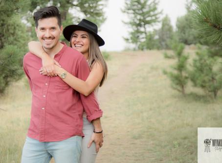 Stephanie & Camilo // Denver Engagement Photos // Colorado Engagement Photographer