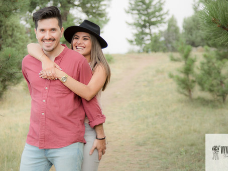 Stephanie & Camilo // Denver Engagement Photos // Colorado Engagement Photographer