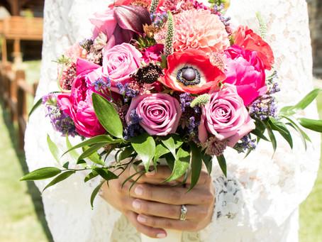 Julie & Zach // Estes Park Resort & Dunraven Inn // Estes Park, CO Wedding Photos // June 26, 2020