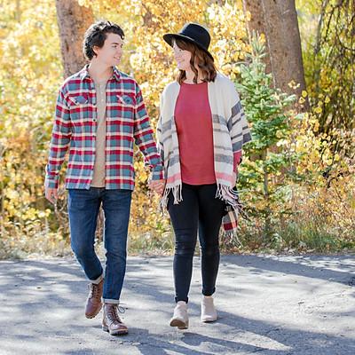 Emily & Miguel - Allenspark Engagement Photos