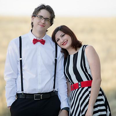 Sammi & Bryon - Denver Engagement Photos
