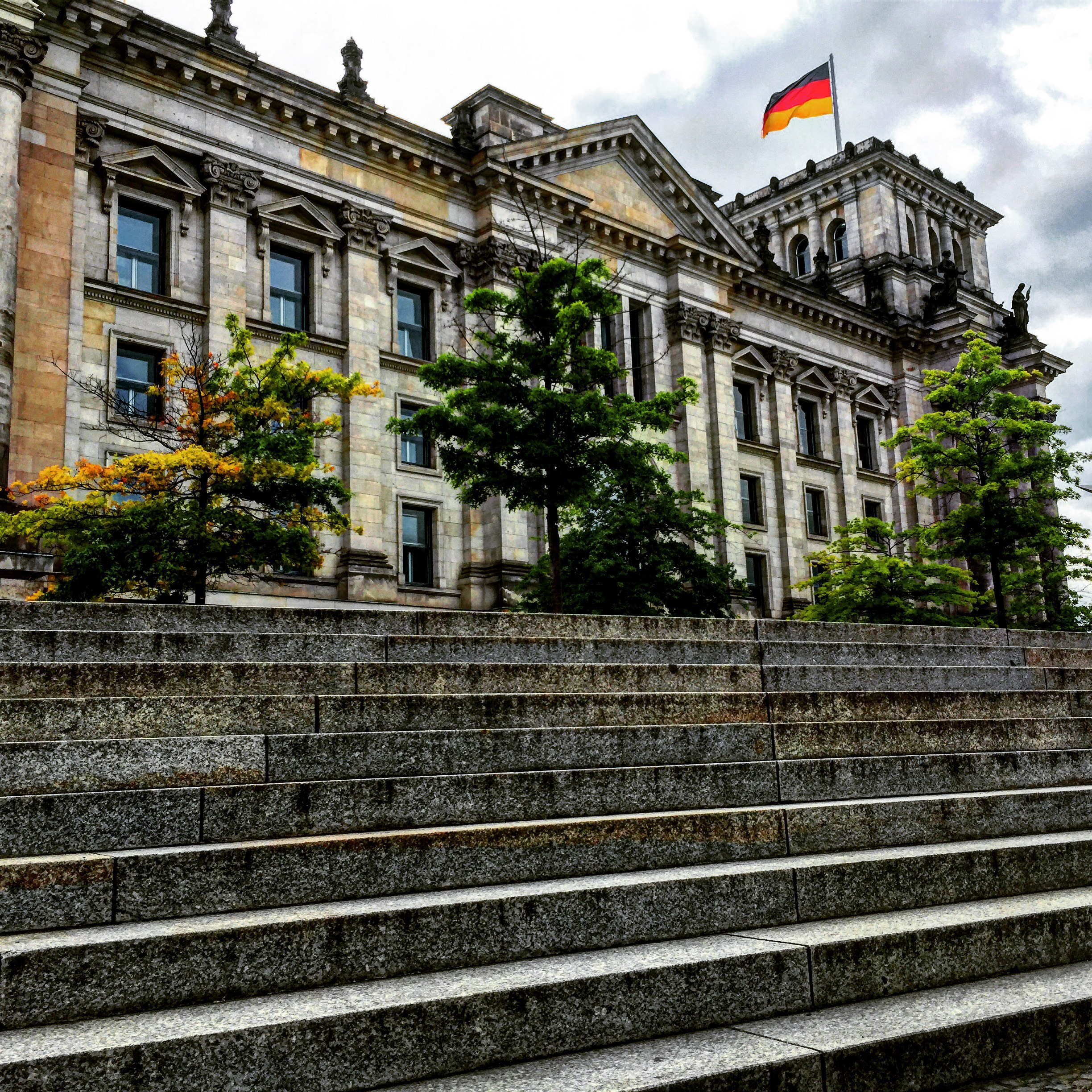 Steps of the Reichstag