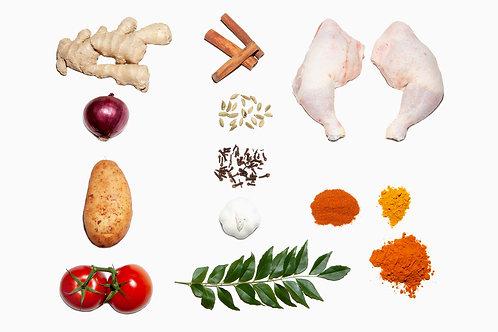 Chicken Curry Landscape
