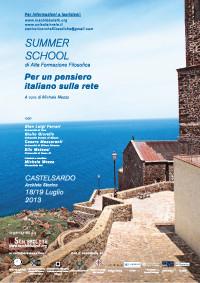 2013 - Per un pensiero italiano sulla rete