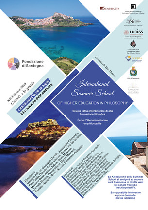 2020 - Summer School - L'evento e la grazia