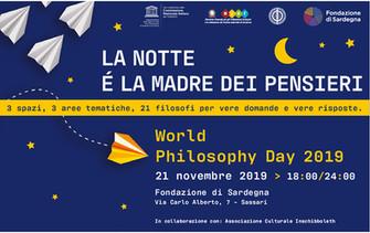 World Philosophy Day 2019 a Sassari 21 novembre