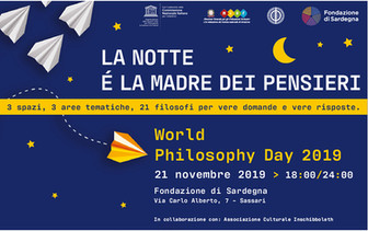 World Philosophy Day 2019 a Sassari 21 novembre