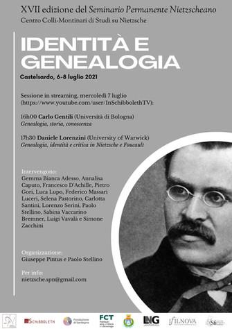Identità e genealogia - XVII edizione Seminario Permanente Nietzscheano