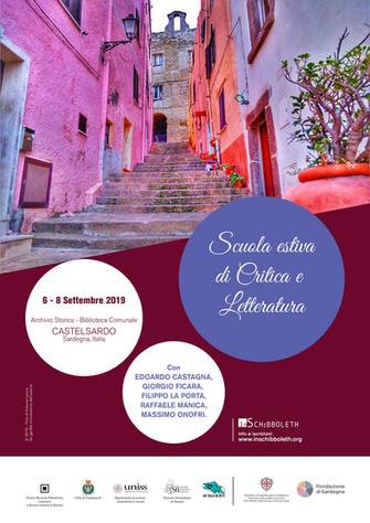2019 - Scuola estiva di Critica e Letteratura