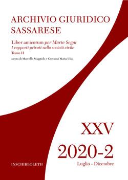 XXV - 2020-2