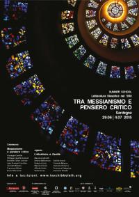 2015 - Tra messianismo e pensiero critico