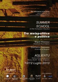 2013 - Tra metapolitica e politica