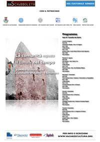 2010 - La comunità esposta, il comune nel tempo della rete