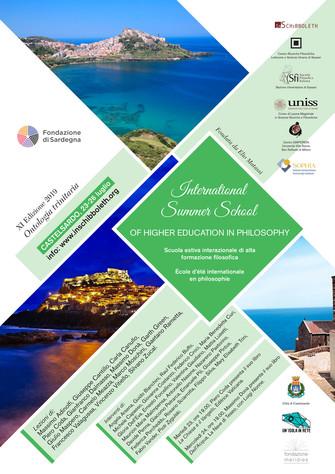 2019 - Summer school - Ontologia trinitaria