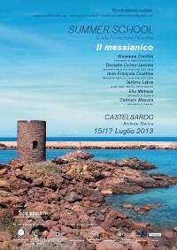2013 - International summer school - Il messianico