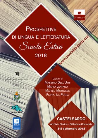 Prospettive di Lingua e Letteratura 2018