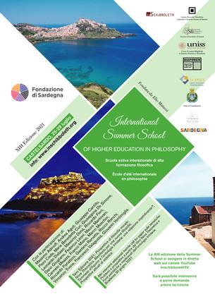 Summer School Filosofia 2021