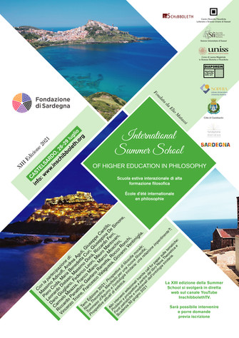 Summer School Filosofia 2021