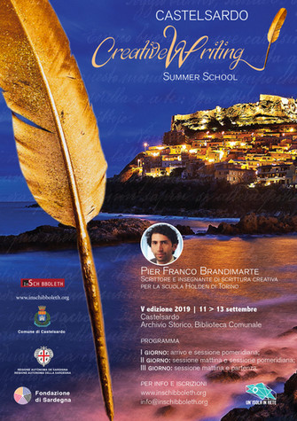 Creative Writing Summer School -  V edizione 2019