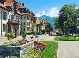 スイスの風景便り(フリブール州Bulle)